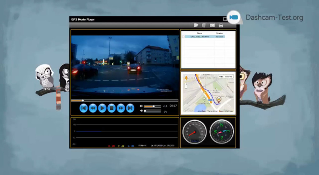 GPS Movie Player