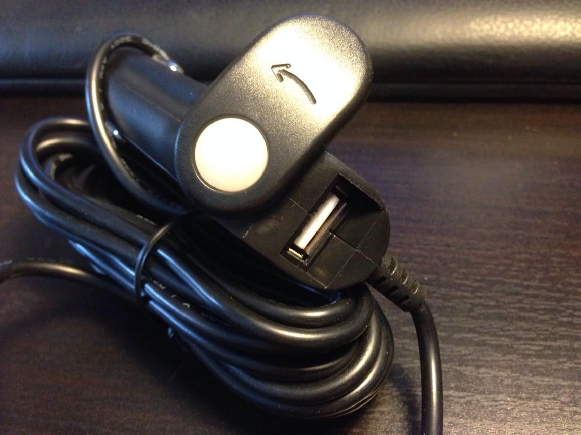 Pracktisch: Eine USB Steckdose für weitere Geräte im Stecker