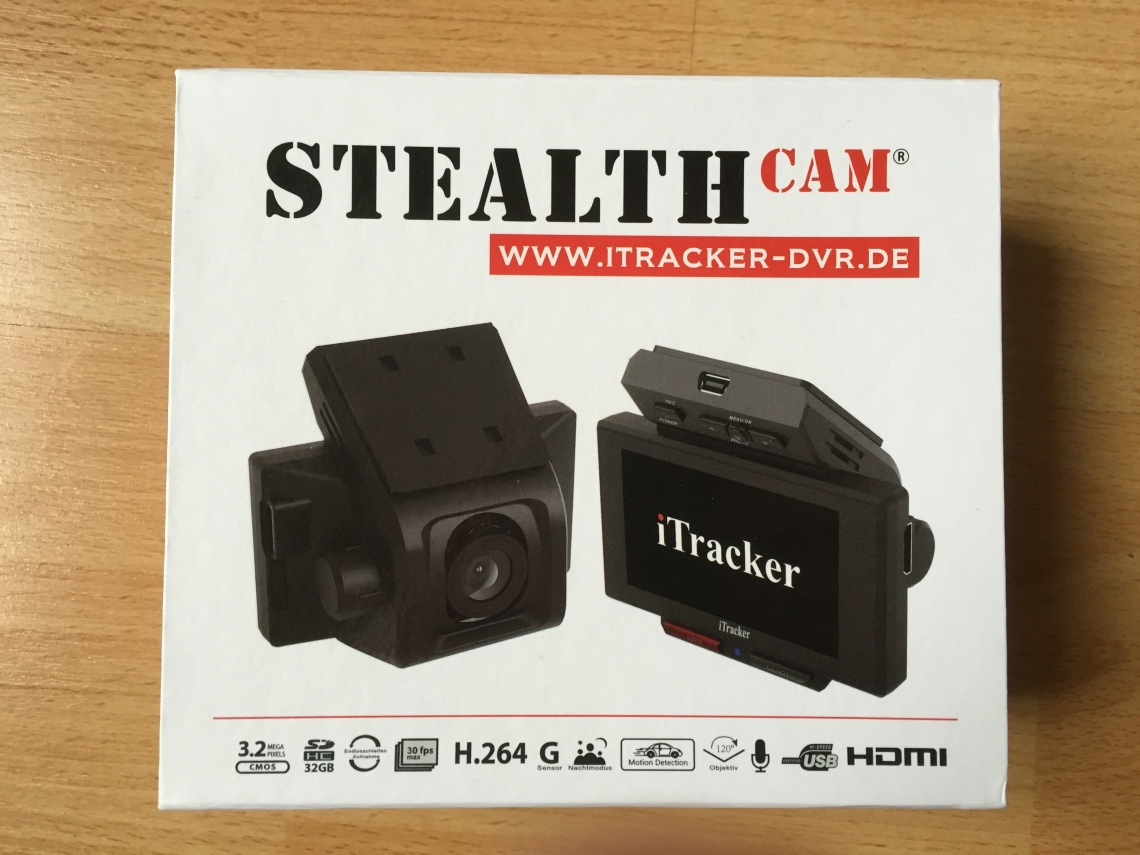 iTracker STEALTHcam - FullHD Dashcam