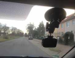 Saugnapf der Dashcams halten nicht