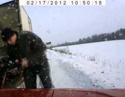 Es gibt auch schöne Dashcam Videos