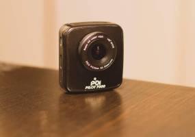 Eine Dashcam mit Blitzerwarner: POI-Pilot 7000