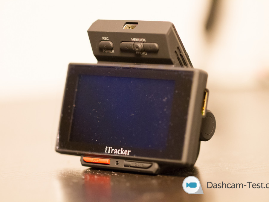 iTracker STEALTHcam - Ansicht Vorne