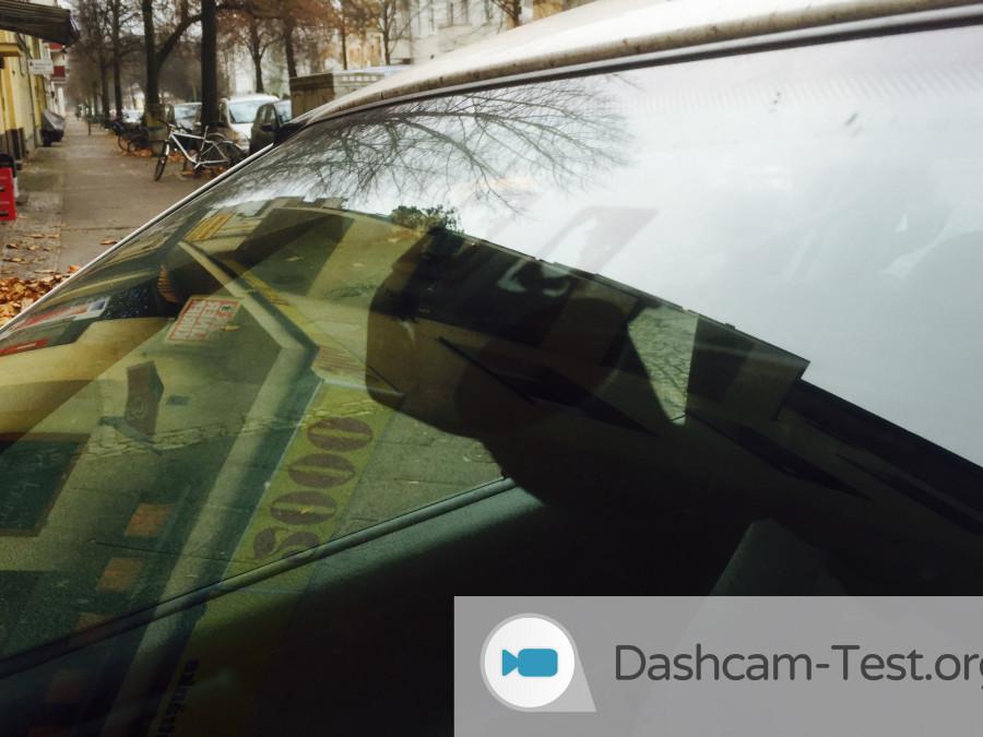 iTracker STEALTHcam - Ansicht außerhalb des Autos