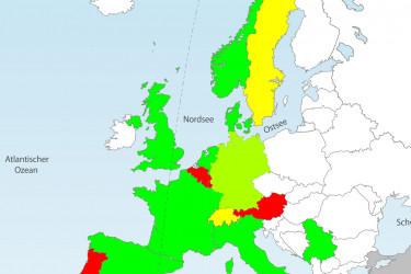 Wo sind Dashcams in Europa erlaubt?