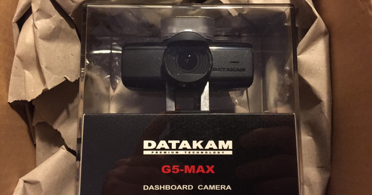 Neue Dashcam: DATAKAM G5-CITY MAX