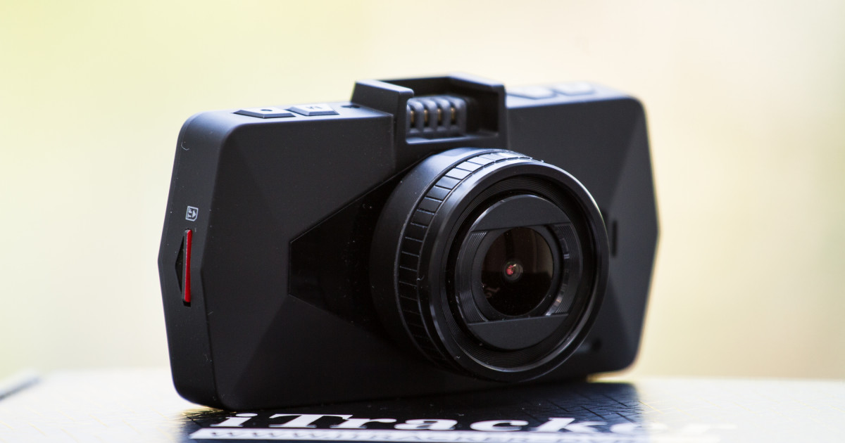 iTracker DC300-S: Tarnkappenoptik GPS Dashcam