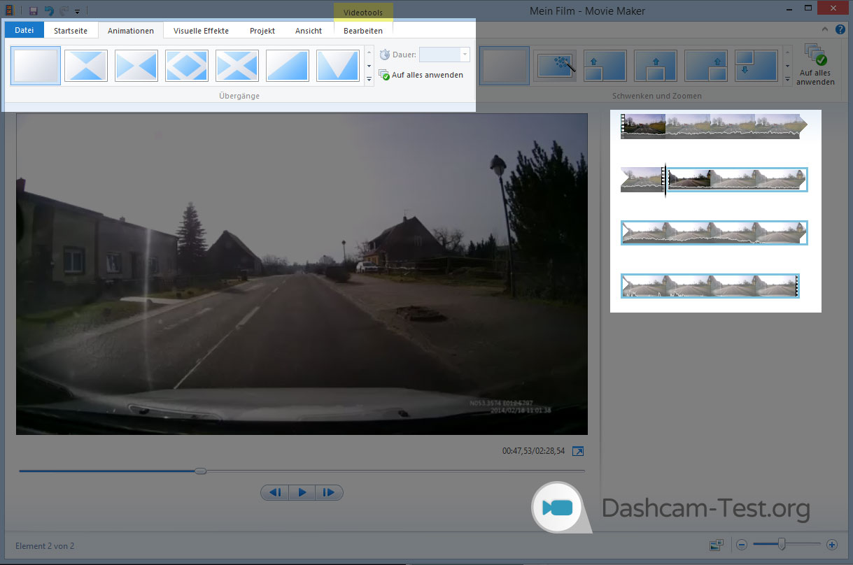 welche videoschnittsoftware f r youtube dashcam videos. Black Bedroom Furniture Sets. Home Design Ideas