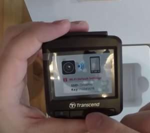 SSID und Key der DrivePro 220